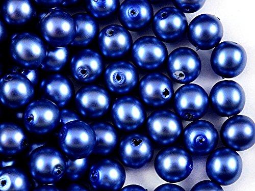 30pcs-ceca-perline-con-un-rivestimento-pearl-estrela-rotondo-8-mm-pastello-blu