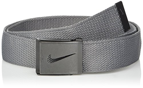 Nike Men's 3 Pack Web Belt, Black Camo/Grey/Black, One Size -