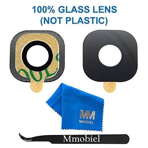 MMOBIEL® Hauptkamera Back Kamera Glas Linse Ersatz Set + vorinstalliertem 3M doppelseitigem Klebepad + Pinzette + Mikrofaser Tuch für Samsung Galaxy S8 G950/S8 Plus G955 Series