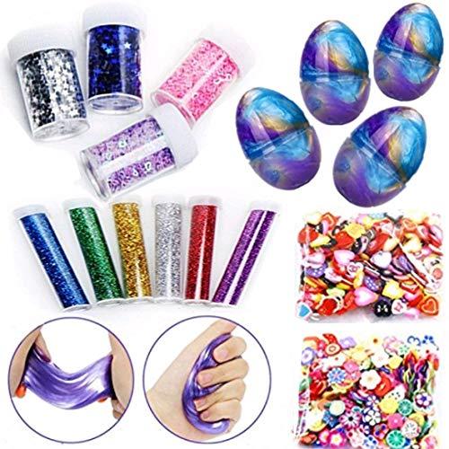 IY Schleim Kristall Schlamm Release Druckentlastung Magie Plastilin Kinder Spielzeug ()