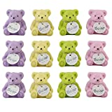 #6: Akki World Teddy Erasers With Sharpener For Kids (Pack of 12)