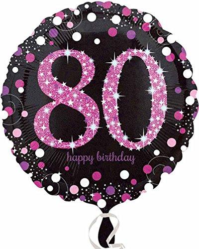 Amscan 337900180. Geburtstag Folie Ballons