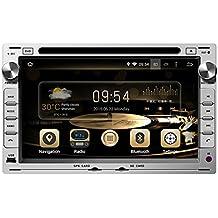 TOPNAVI 7inch 1024*600 Android 5.1.1 Car DVD Player for VW PASSAT B5/MK5 2001-2011/JETTA 1998-2005/BORA/POLO/MK3/MK4 2000-2009/GOLF MK4 1997-2003/CITI 2004-2009/GOLF 2004-2009/CHICO/TRANSPORTER T4/T5 1998-2009 2004-2009/SHARAN 2000-2009 Auto GPS navigation Wifi Bluetooth Radio 1.6 GB CPU Rockchip RK3188 Cortex A9 DDR3 Capacitive Touch Screen 3G car stereo audio Phonebook RDS AUX DVR Mirror Link 16GB Quad Core