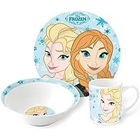 Disney Frozen - 3 pezzi da tavola in ceramica