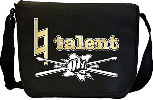 Drum Kit Natural Talent - Sheet Music Document Bag Musik Notentasche MusicaliTee