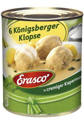 Preisvergleich Produktbild Erasco 6 Königsberger Klopse 800g