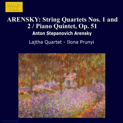 arensky-string-quartets-nos-1-and-2-piano-quintet-op-51