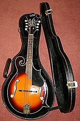 Mandolina Vintage vfm300Sunburst nuevo con funda