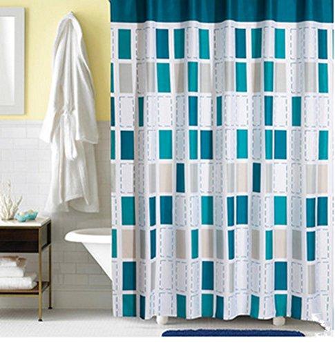 Duschvorhang Vorhang Vorhänge Modedesign Polyester verdickte Toiletten Opaque , 180cm*200cm (Schlüsselloch Undurchsichtig)