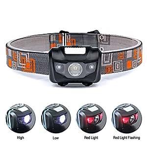 lampe frontale led puissante kungix projecteur mains libres 4 modes d 39 clairage pour le camping. Black Bedroom Furniture Sets. Home Design Ideas