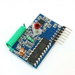 PT2272-M4 Transmission des données 250-450MHz Module Récepteur: DC 5V