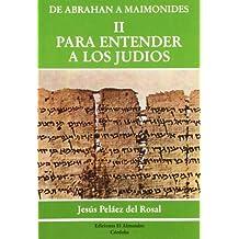 Para Entender A Los Judíos (Estudios de Cultura Hebrea)