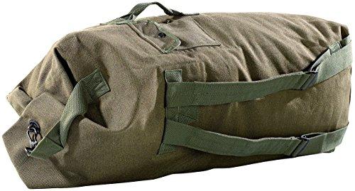Xcase großer Seesack: Extragroßer Canvas-Seesack, 100 Liter (Packsäcke)