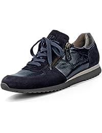 Paul Green 4539-253 Damen Sneaker aus Lackleder Lederfutter und Lederinnensohle
