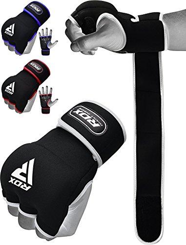 RDX Guanti Interni Fasce Boxe MMA Bende per Mani Polsi Elastiche Pugilato Bendaggi Sottoguanti