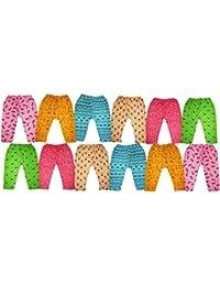 Kifayati Bazar Kid's Cotton Pyjama - Pack of 12