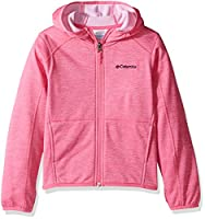 Columbia Girls' S'More Adventure Full Zip Sportswear Fleece Hoodie, Black, Small