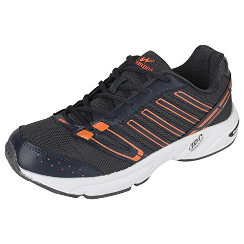 Action Campus Brass Series Dark Grey & Orange Color Casual Shoes For Men ( Size :- 6UK)  available at amazon for Rs.1349