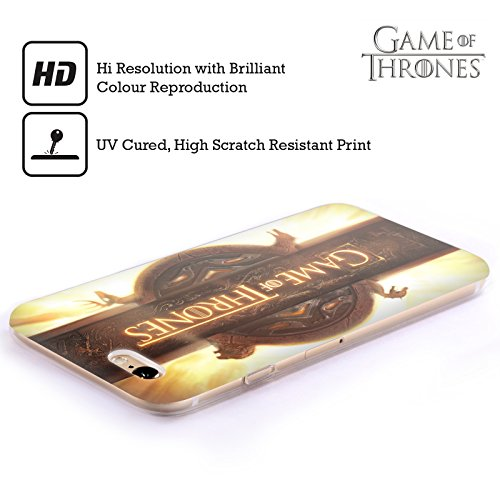 Ufficiale HBO Game Of Thrones Mappa Di Westeros Disegni Chiave Cover Morbida In Gel Per Apple iPhone 5 / 5s / SE Sequenza Di Apertura