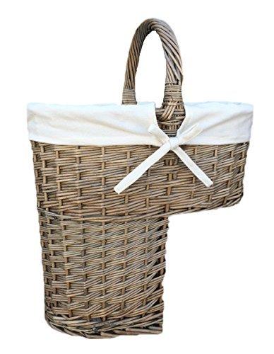 Choice Baskets Antique Wash Treppe fertig Korb mit weißem Futter