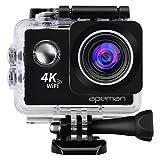 APEMAN Action Kamera WIFI sports cam 4K camera 20MP Ultra Full HD Helmkamera wasserdicht mit 2...