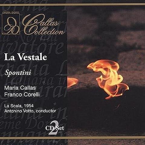 Spontini : La Vestale. Callas, Zaccaria, Corelli, Votto.