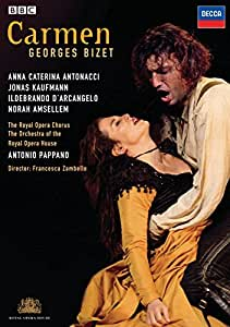 Georges Bizet - Carmen / Antonacci, Kaufmann, D'Arcangelo, Amsellem, Pappano (The Royal Opera House)