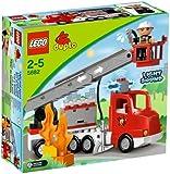 Lego Duplo - Legoville - 5682 - Jouet Premier Age - Le Camion des Pompiers