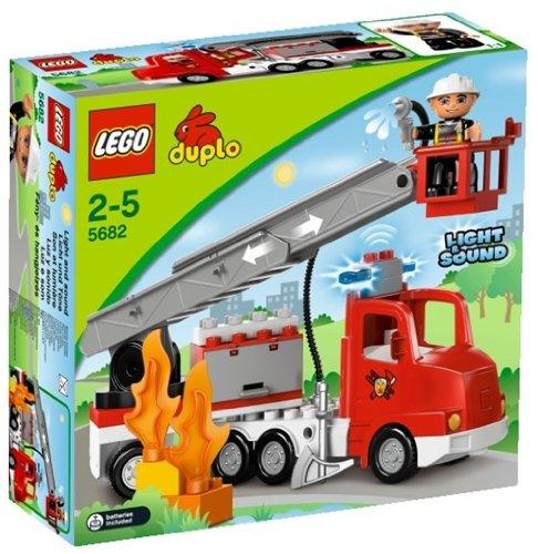 feuerwehrauto lego duplo LEGO Duplo Town 5682 - Feuerwehrwagen
