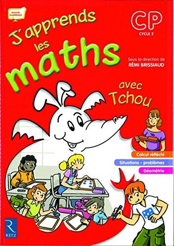 Livre occasion J'apprends les maths avec Tchou CP