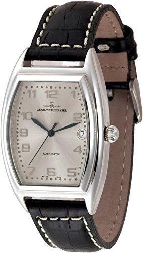 Zeno-Watch Orologio Donna - Tonneau Retro Automatico Retro - 8081-e2