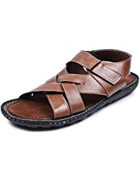 Andrew Scott Mens Synthetic Leather Sandal