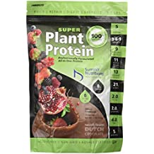 Summit Nutritions All In One Formula Super Plant Protein - Naturally Flavored (Dutch Chocolate, 1Lbs)