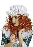 Bade-Haube / Nacht-Haube in weiß | Einheitsgröße Erwachsene | Damen-Hut für Karneval
