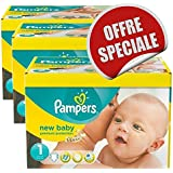 516 couches Pampers New Baby Dry Taille 1 Newborn (2-5-kg)