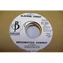 CLAUDINE LONGET 45 RPM Broomstick Cowboy / Same