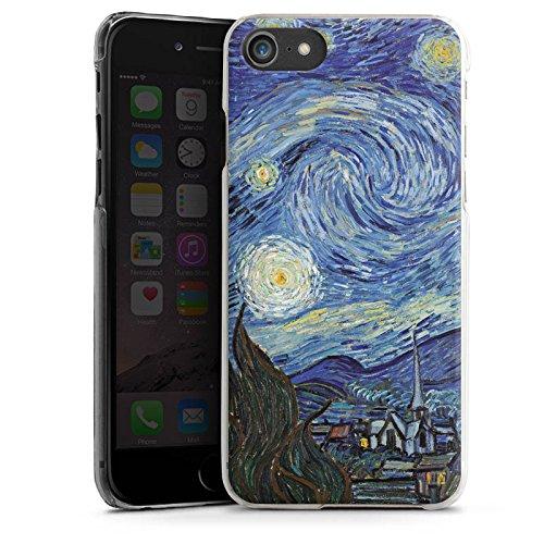 Apple iPhone X Silikon Hülle Case Schutzhülle Vincent van Gogh The Starry Night Kunst Hard Case transparent