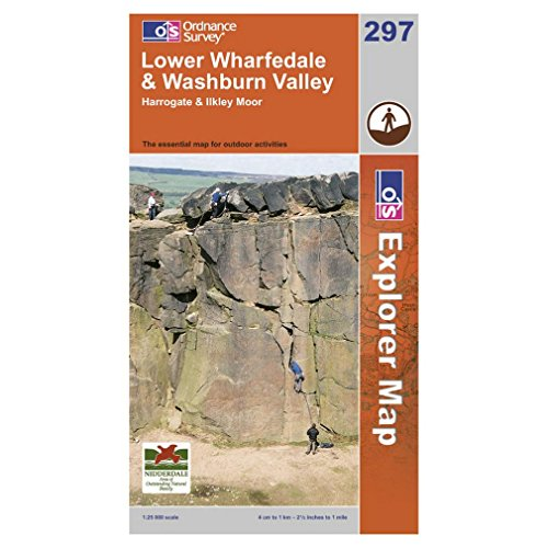 Price comparison product image Lower Wharfedale and Washburn Valley (Explorer Maps)