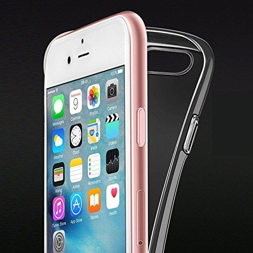 "iPhone6 6s Hülle Caler® Weiche flexible Silikon-Handy-Hülle Transparente Ultra Slim TPU Rundum-schutz Tasche Etui Silikon Bumper Schutzhülle in Premium Dein Smartphone Case Cover für iPhone 6 6S 4.7""( Engel"