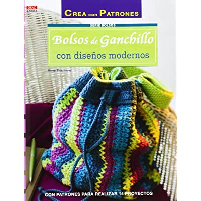 c0f31fcf6 Crea Con Patrones. Serie Bolsos. Bolsos De Ganchillo Con Disenos Modernos -  Numero 8 PDF Download