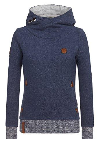 Naketano - Sweat-shirt - Uni - Femme Indigo Shizzle