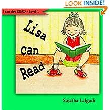 Early Readers : Lisa can Read : children, Early reader books level 1. Easy reader book. Beginner reading books level 1 (Step into reading book series for early readers : childrens books)