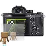 atFoliX Displayschutz für Sony Alpha a7R II / a7S II Spiegelfolie - FX-Mirror Folie mit Spiegeleffekt
