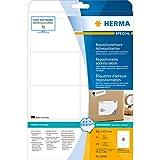 Herma 10018 Adressetiketten (A4 repositionierbar Papier matt, blickdicht, 99,1 x 67,7 mm) 200 Stück weiß