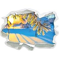 Filiali nella dimensione adesivo gelo, carta da parati 3D: 62x45 cm decorazione della parete 3D Wall Stickers murali Stickers
