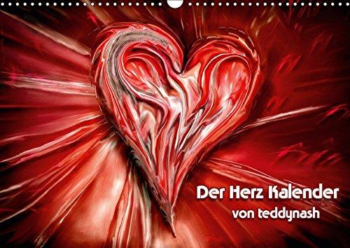Der Herz Kalender (Wandkalender 2019 DIN A3 quer): Das Herz ist das Symbol der Liebe (Monatskalender, 14 Seiten ) (CALVENDO Menschen)