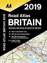 Road Atlas Britain 2019 SP (AA Road Atlas Britain)