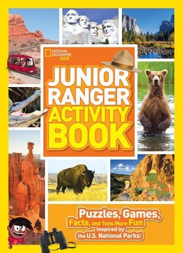 Junior Ranger Activity Book: Puzzles, Games, Facts, and Tons More Fun Inspired by the U.S. National Parks! (National Parks)