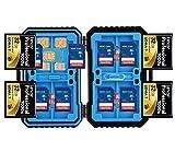 Speicherkarte Collection Box, professionelle Wasserdicht Flash Card Halterung für Micro SD SDHC SDXC TF SIM CF-Karte