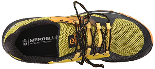 Merrell All Out Charge, Scarpe da Trail Running Uomo Giallo (YELLOW)